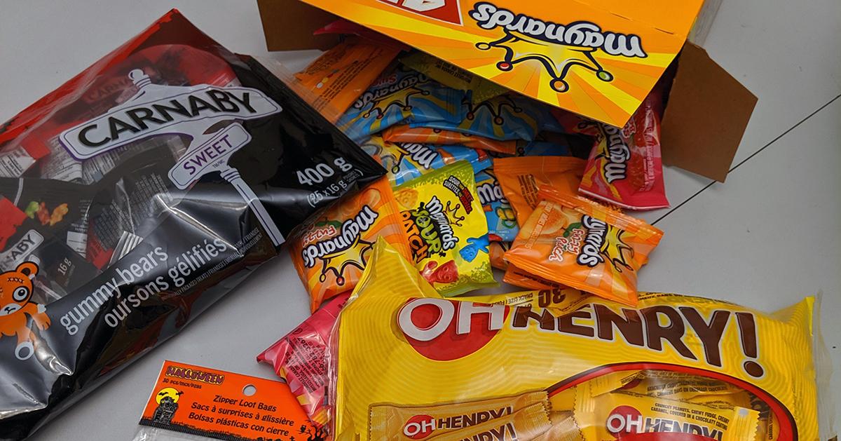 Kanadietiški saldainiai ir saldumynai